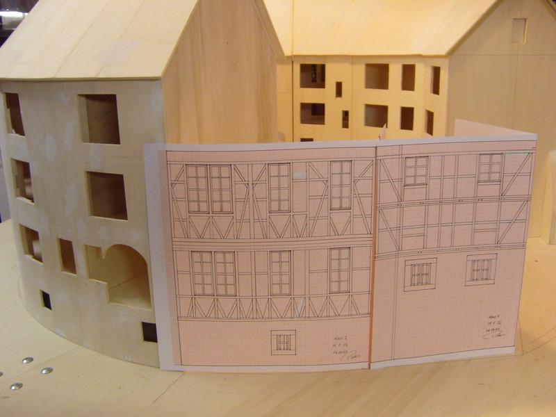 Bauplan Fachwerkhaus exklusiv modellbau das fachwerkhaus